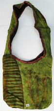 R377 New Trendy & Artistic Shoulder Drop Cotton Bag Hand Made in Nepal