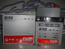 BATTERIA FIAMM FB9-B=YB9-B C/ACIDO VESPA PX E 200 DT (VSX1T) ' 2002 2003 2004