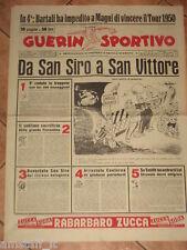 GUERIN SPORTIVO 1956/15 DA SAN SIRO A SAN VITTORE