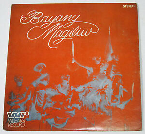Philippines THE PANDACAN BRASS BAND Bayang Magiliw OPM LP Record