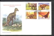 Romania 2005 Prehistoric Animal/DINOSAURS 4v FDC n15203