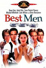 NEW DVD // Best Men // Luke Wilson, Sean Patrick Flanery, Drew Barrymore
