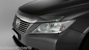 TOYOTA AURION BONNET PROTECTOR CLEAR VERSION GSV50 FROM FEB 2012> NEW GENUINE