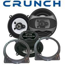 Crunch Lautsprecher 13cm & Adapterringe für Honda Civic 01.2002-01.2006 Front