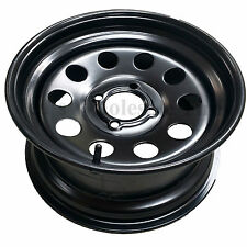 Zero Turn Lawn Mower Garden Tractor Go Kart RIM WHEEL 14x8 4/4 Matte Black Steel