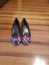Super Luxury! Women's Vaneli Shoes Size 9 Leather Suede Burgandy