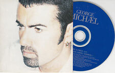 CD CARDSLEEVE GEORGE MICHAEL 2T JESUS TO A CHILD + ONE MORE TRY LIVE TBE