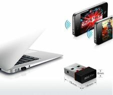 ADAPTADOR RED WIFI NANO USB 150 MBPS LAN INALÁMBRICO WIRELESS