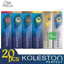 Any 20pcs - Wella Koleston Perfect Permanent Hair Color Dye 60g