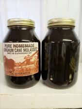 Pure Homemade Sorghum Cane Molasses Syrup 44 Oz