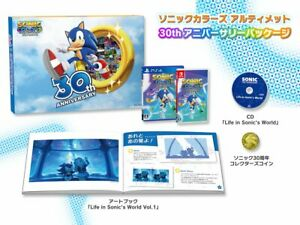 Sonic Colors Ultimate 30th Anniversary Pack PS4 Jap english