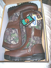 Mens Snake Proof Boots Camo Waterproof Boots Camo Hunting Boots Leather Boots 13