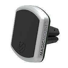 SCOSCHE MagicMount Pro Magnetic Car Vent Smartphone Mount-Black & Silver-Brand N