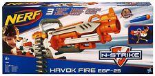 NERF VULCAN EBF-25 HAVOK FIRE EBF-25 Dart BLASTER Super RARE Brand New In Box