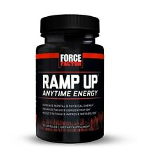 NEW!! Force Factor Ramp Up Anytime Energy Dietary Supplement ($89.99 Retail)