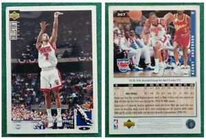Figurina Card NBA KENNY ANDERSON upper deck COLLECTOR'S CHOICE italy NETS
