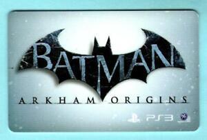 WALMART Batman Arkham Origins 2013 Gift Card ( $0 )