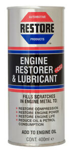 Smoking MARINE, BOAT ENGINE? Burning Oil? AMETECH ENGINE RESTORE OIL - 400ml can