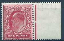 Sg 280 M7(2) 1d Deep Rose Red Harrison perf 15x14 Unmounted mint/MNH