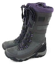 Merrell Women's Polarand Rove peak Waterproof Winter Boot Granite Size 8.5 M US