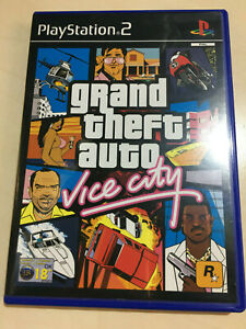 GRAND THEFT AUTO VICE CITY for the Playstation 2 with map and tourist guide VGC