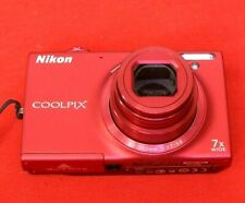 Nikon COOLPIX S6100 16.0MP, Face-Priority Af Function  Digital Camera - Red