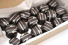 Swetourmet Dark Chocolate Vanilla ButterCream w/white string-1Lb FREE SHIPPING