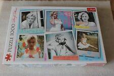 MARILYN MONROE - PUZZLE  1000 PIECES !!! RARE TREFL EDITION !!!! ver 3