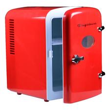 Frigidaire Portable Retro 6-can Mini Fridge EFMIS129, Red