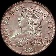 1831 50C Overton 104 Capped Bust Half Dollar NGC O-104, AU58