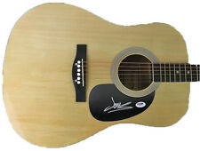 JAMES MERCER SIGNED ACOUSTIC GUITAR THE SHINS BROKEN BELLS PSA/DNA #W78129