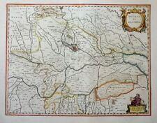 ITALIEN ITALY DUCATO DI MANTOVA LOMBARDEI MANTUA CREMONA FERRARA BLAEU 1640