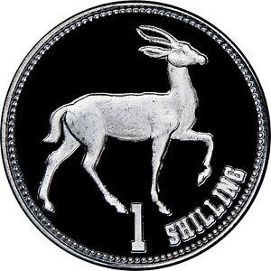 Republic de Somaliland 1 Shilling 2019 Gazelle NGC MS 66 Aluminium Coin