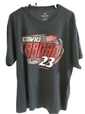 David Ragan #23 Dr Pepper s/s t-shirt NWT adult size XL autographed