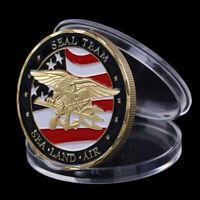 Souvenir Coin US Sea Land Air Seals Team Coin Navy Military Challenge Coin NT