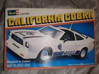 Revell California Cobra 1:25 Model Car Kit 7204 From 1979