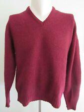 VINTAGE 60'S BRENTWOOD Sportswear Cinnamon Shetland Wool Pull Over Sweater Sz L