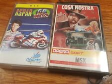Msx lot cosa nostra Aspar GP master dinamic opera soft made in spain COSANOSTRA