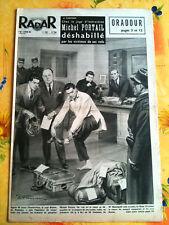 RADAR 8/02/1953    Michel Portail déshabillé