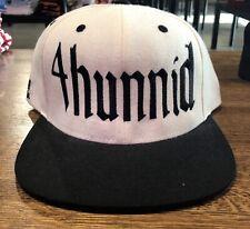 4Hunnid Snapback White NWOT 100% Authentic! 1d3971e1dc0