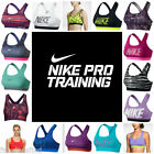 NIKE PRO Womens Sports Bras Asst Colors/Patterns XS-XL Med Support NWT Free Ship