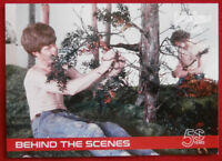 CAPTAIN SCARLET 50 YEARS - Card #35 - BEHIND THE SCENES - Unstoppable Cards 2017