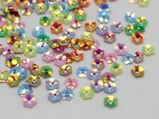 3000 Mixed Color Cup Flower loose sequins Paillettes 6mm sewing Wedding craft