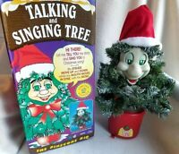 Telco Motionette 1998 Vintage Talking & Singing Christmas Tree Limited Ed. WORKS