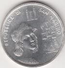 SAN MARINO LIRE 1000 1983 RAFFAELLO SANZIO ARGENTO FDC silver VOLTO RAFFAELLO