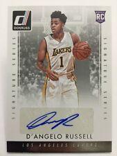 D'Angelo Russell Signature Series Auto 2015-16 Panini Donruss NBA Autograph RC