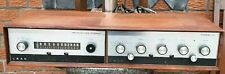 LEAK STEREO 30 VINTAGE BRITISH AMPLIFIER CLASSIC WITH LEAK STEREOLINE FM TUNER