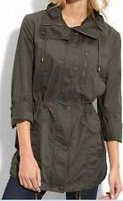 Khaki Jacket MARC NEW YORK Cotton Small Parka Andrew Marc Size S EUC