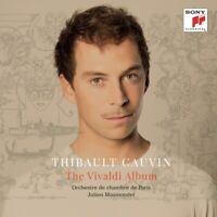 THE VIVALDI ALBUM - CAUVIN,THIBAULT   CD NEW! VIVALDI,ANTONIO