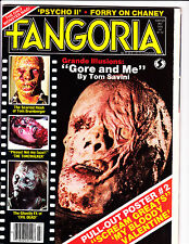 Fangoria No 27 1983 Gore & Me Cover - Bloody Valentine Poster Included- Scarce !